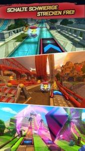 Sonic Forces Speed Battle Screenshot - (c) Sega