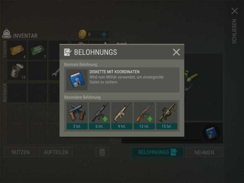 Umso höher das Level vom Spezialisten, desto bessere Waffen werden freigeschaltet