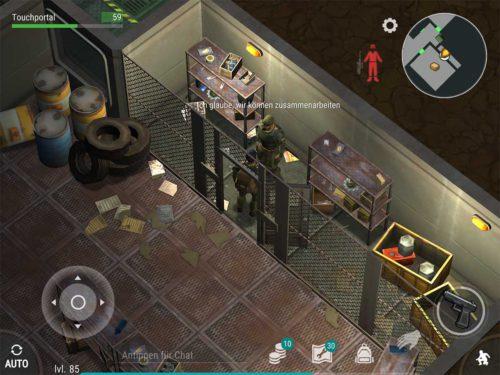 Befreie den Spezialisten in Ebene 2 von Bunker Alfa, um den Aufseher-Raum freizuschalten