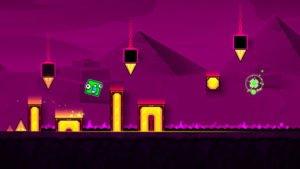 Geometry Dash SubZero ist das wohl schwereste Spiel, das trotzdem zu begeistern weiß - Screenshot (c) RobTop Games