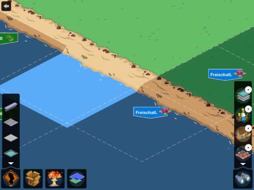 Die zwei letzten Reihen der Landerweiterung können aktuell nur mittels Landmarken freigeschaltet werden