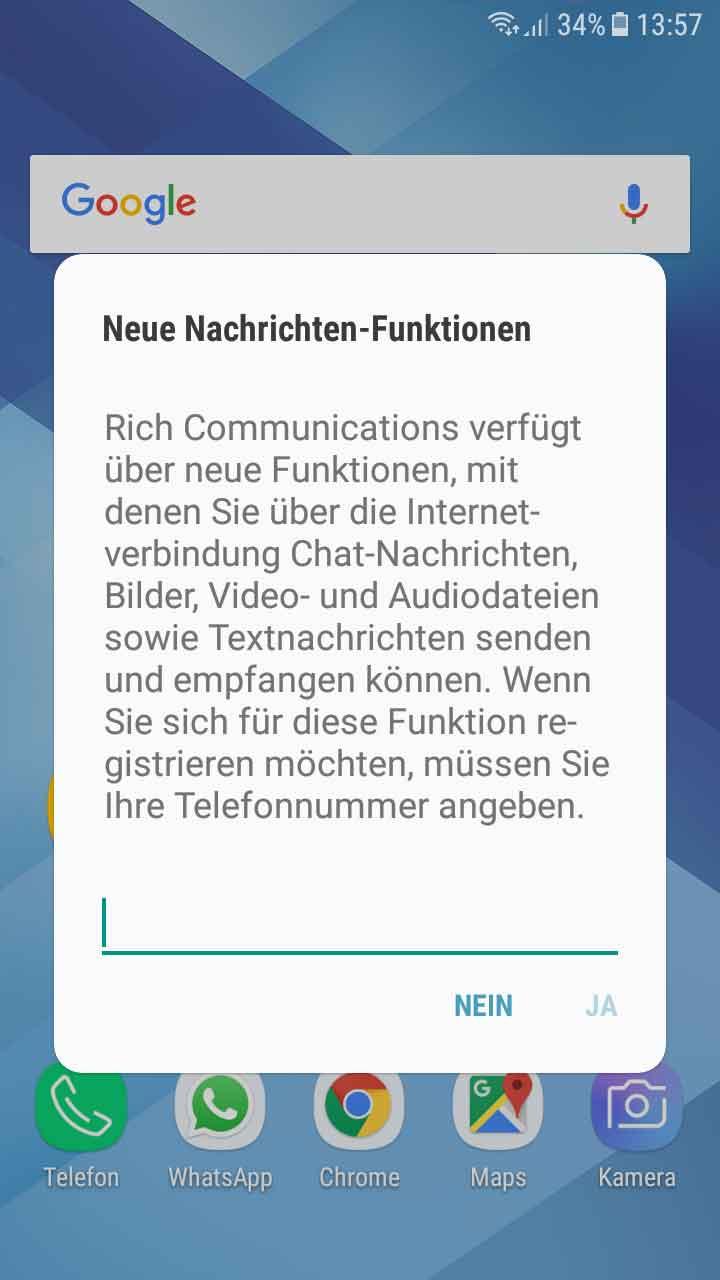 Android: Rich Communications deaktivieren – Neue Nachrichten ...