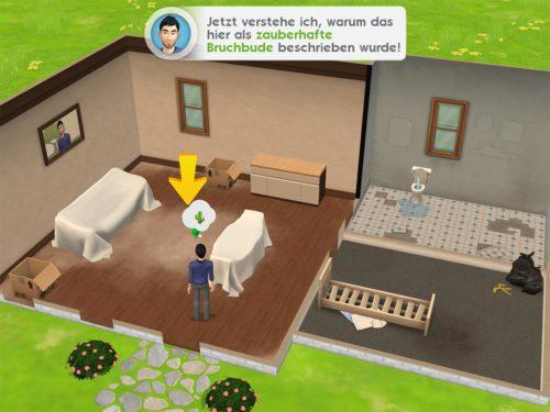 Zum Start in Sims Mobile wirst du deine Wohnung renovieren müssen - Folge einfach der Anleitung