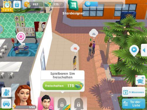 Der dritte Sim Slot kostet 175 SimCash - dies kannst du dir ohne In-App-Kauf innerhalb einer Woche verdienen
