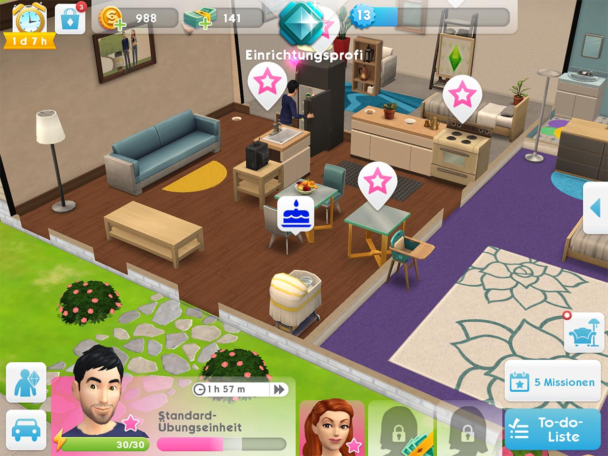 how to get a baby in sims mobile