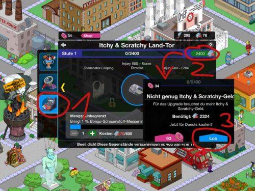 So findest du schneller die Besucher beim Simpsons Springfield Event