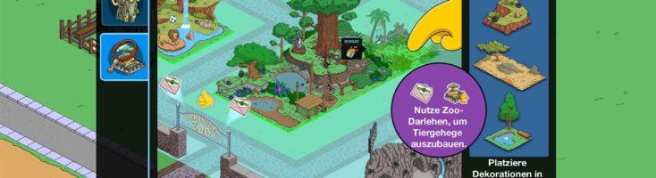 Zoo-Darlehen bekommst du durch verschiedene Aktivitäten und brauchst du, um deine Gehege auszubauen
