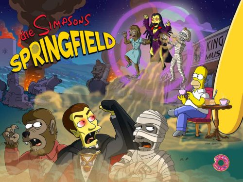 Simpsons Springfield Treehouse of Horror 2018 Event - (c) EA