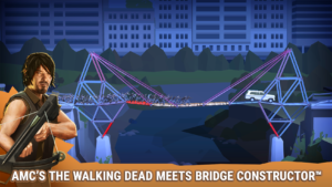 Bridge Constructor The Walking Dead Screenshot - (c) Headup